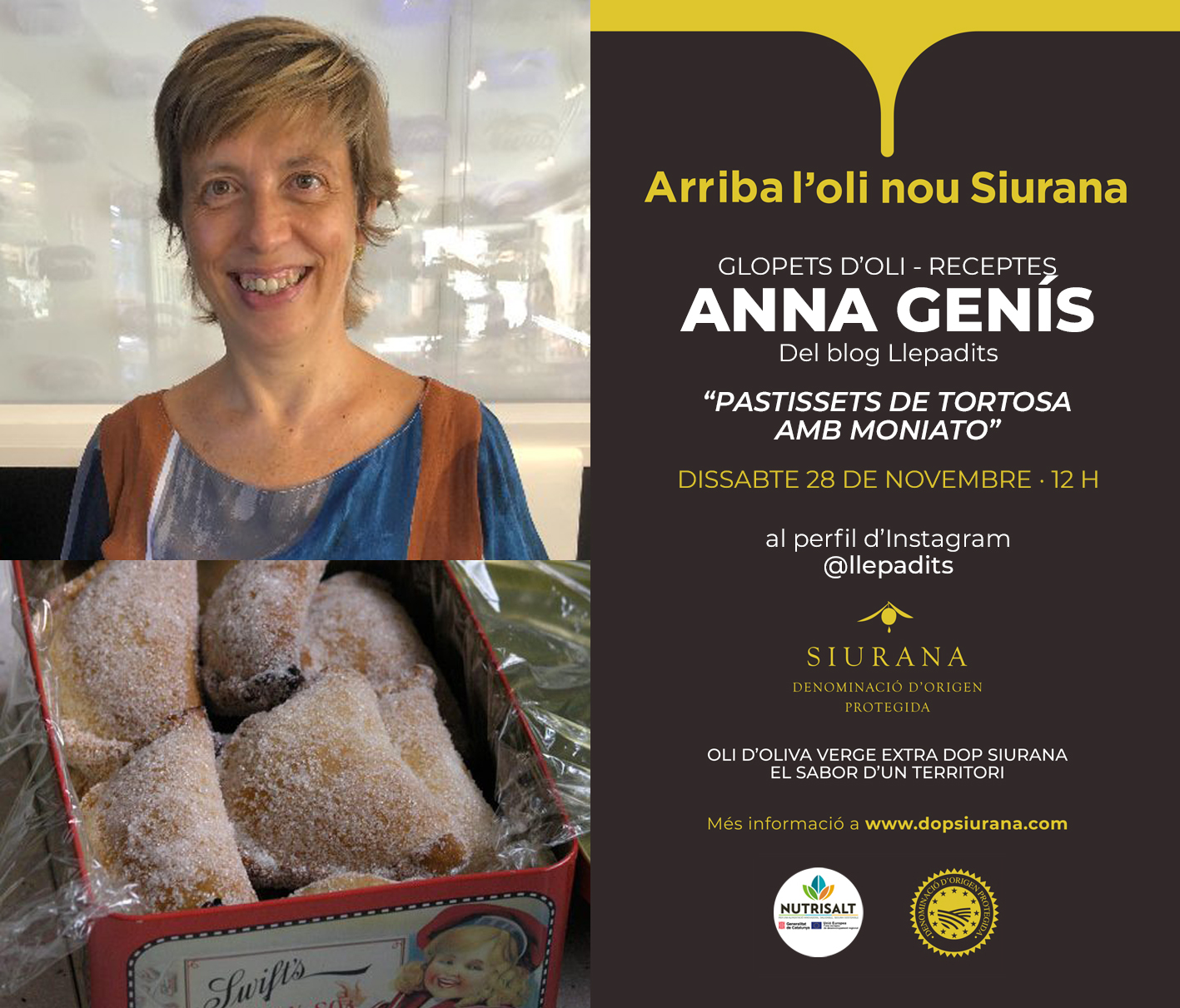 Anna Genís - Llepadits Fira Virtual Oli Nou DOP Siurana 20
