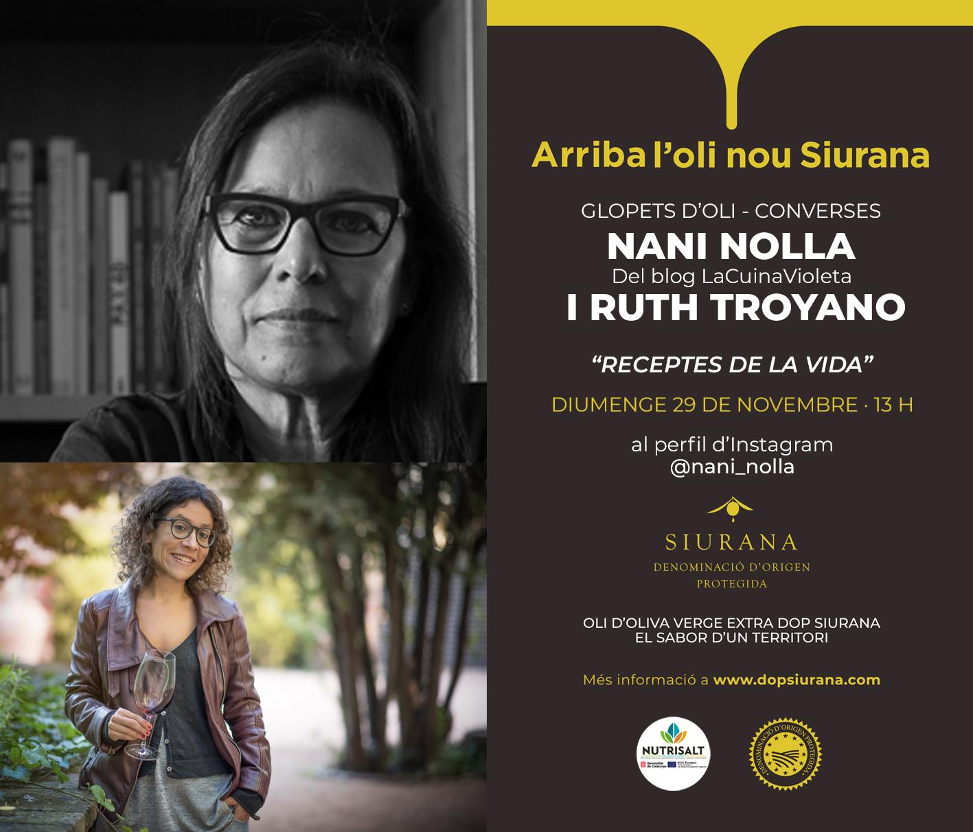 Nani Nolla i Ruth Troyano Fira Virtual Oli Nou DOP Siurana 20